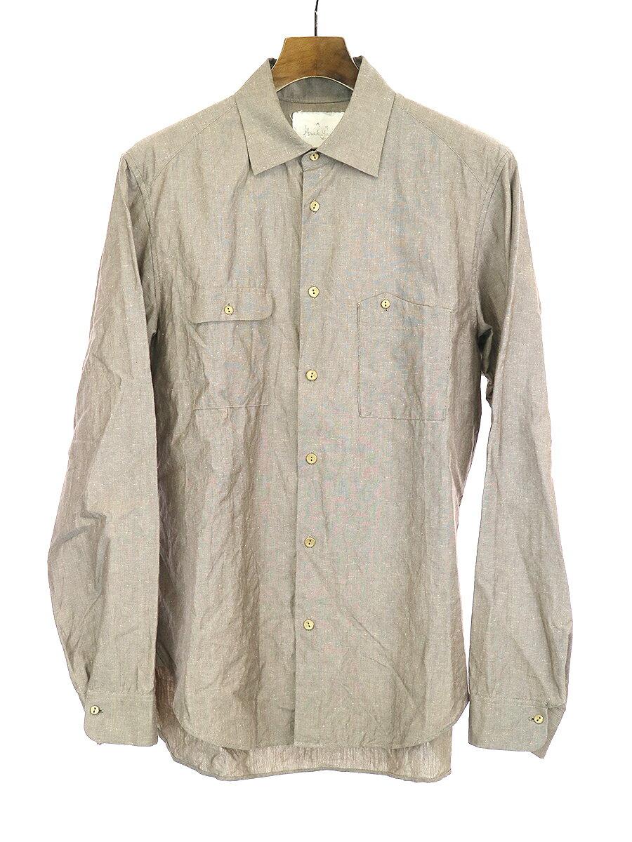 トップス, カジュアルシャツ Araki Yuu Utility Shirts 1