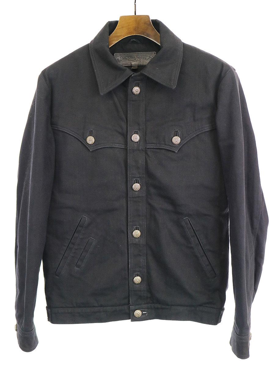 メンズファッション, コート・ジャケット CHROME HEARTS CLASSIC JEAN DENIM XS