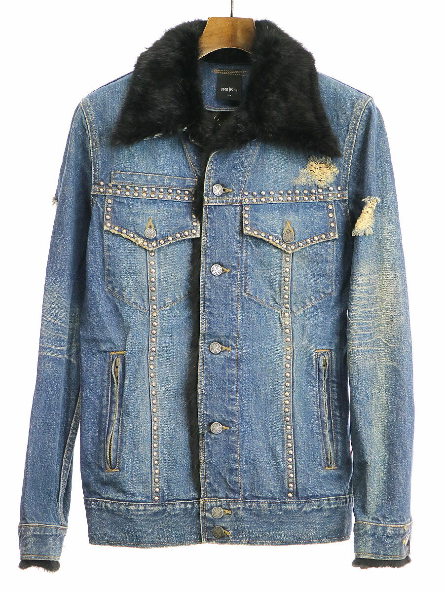メンズファッション, コート・ジャケット roen jeans 34