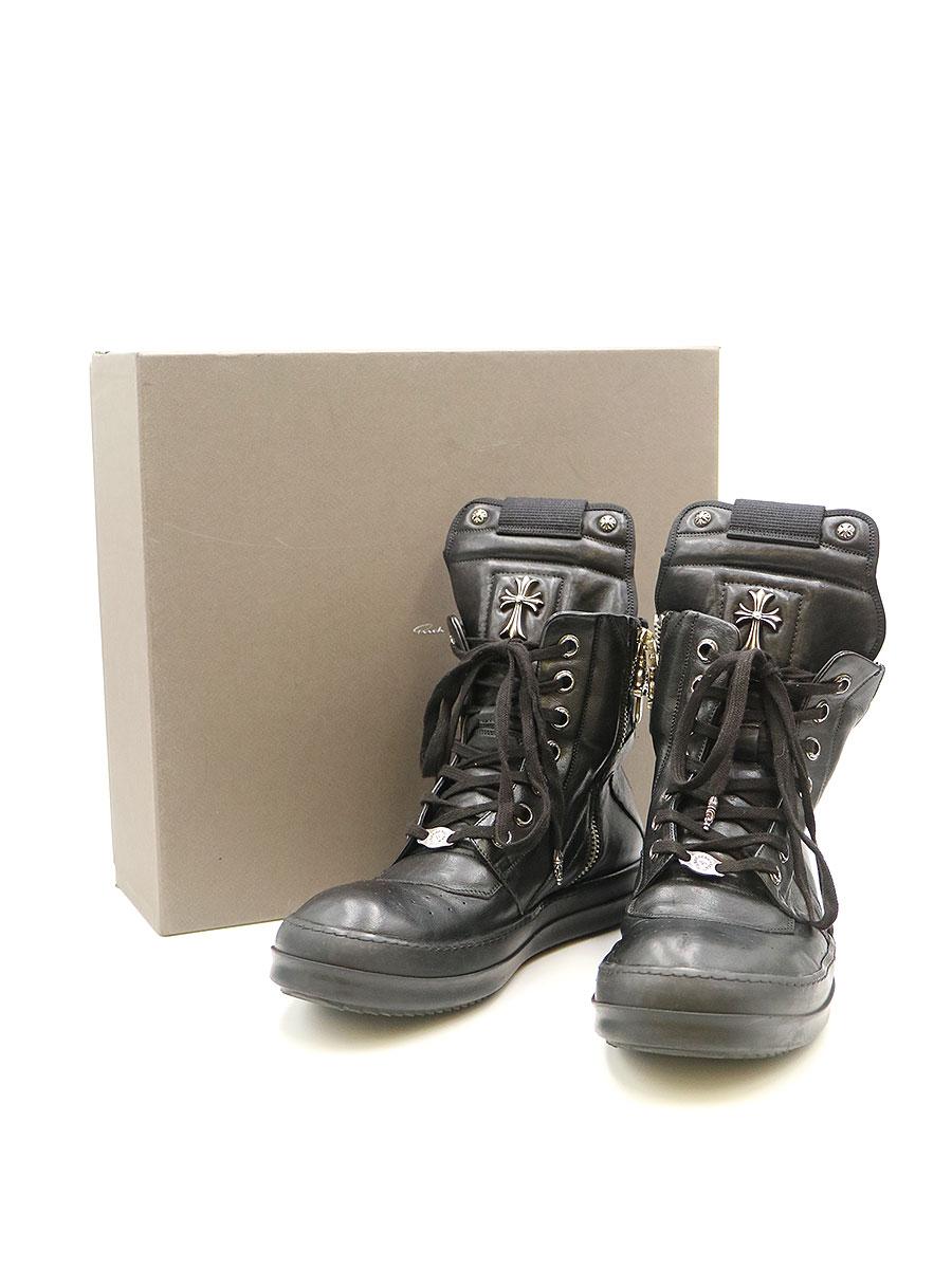 メンズ靴, スニーカー CHROME HEARTSRick Owens GEOBASKET 43.5
