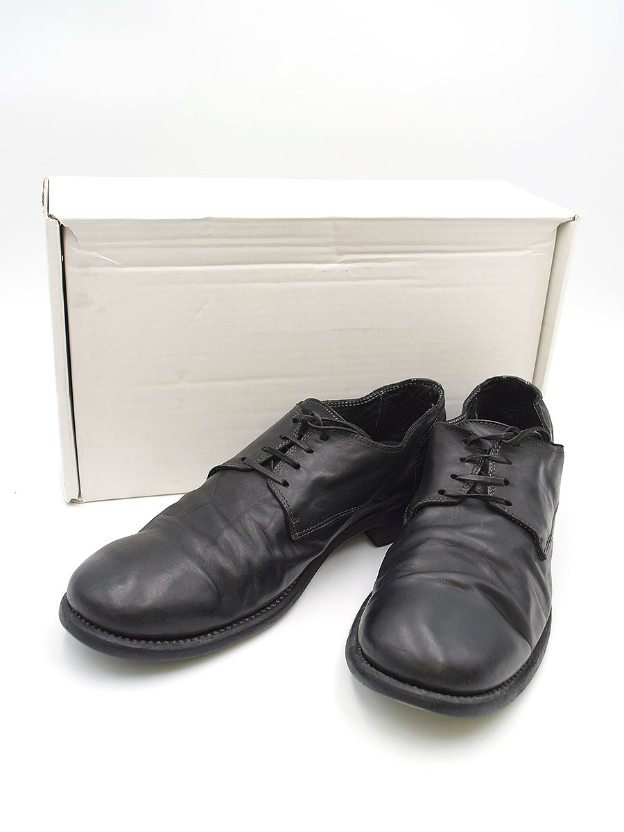 メンズ靴, その他 GUIDI 992 CLASSIC DERBY 43