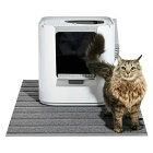 猫砂マット猫砂キャッチャーモデキャットLリターマット《MAT103白/100グレー》猫用砂飛び散り防止砂取りマット大型大きめ掃除簡単水洗い清潔おしゃれシンプルネコトイレマットペットマットmodkomodkat