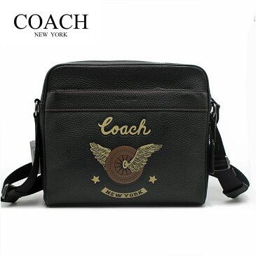 コーチ メンズ バッグ レザー ショルダーバッグ メッセンジャーバッグ ボディバッグ COACH CHARLES CAMERA WITH EASY RIDER MOTIF