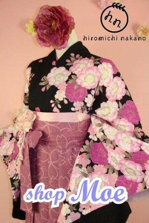 Moe♪レンタル卒業式貸衣装貸衣裳袴スタイル着物袴セット安心フルセットレンタル!31