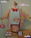 即納七五三着物3歳キッズ着物ブランド新作2013 乙葉otoha 3歳女児ブランド着物被布セットキッ ...