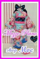 七五三着物7歳フルセット着物ブランドmezzopianoメゾピアノ着物7歳7才女児ブランド着物フルセットキッズ着物♪ブランド髪飾り付♪m1(mp_m-1)ブランドで差がつく七五三!