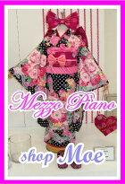 七五三着物7歳フルセット着物ブランドmezzopianoメゾピアノ着物7歳7才女児ブランド着物フルセットキッズ着物♪ブランド髪飾り付♪m4(mp_m-4)ブランドで差がつく七五三!