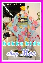 2015新作七五三着物7歳フルセット着物ブランドHakkakidsハッカキッズ着物7歳7才女児ブランド着物フルセットキッズ着物♪ブランド髪飾り付♪v2(hk_v-2)ブランドで差がつく七五三!
