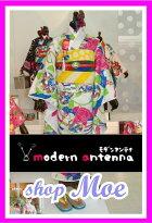 2015新作七五三着物7歳フルセット着物ブランドmodernantennaモダンアンテナ着物7歳7才女児ブランド着物フルセットキッズ着物♪ブランド髪飾り付♪d3(ma_d-3)ブランドで差がつく七五三!