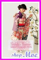 2015新作七五三着物7歳フルセット着物ブランドShikibuRoman式部浪漫着物7歳7才女児ブランド着物フルセットキッズ着物♪1m(sr_1m)ブランドで差がつく七五三!