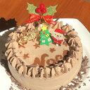 【2020クリスマスケーキ】卵・小麦粉・乳製品不使用のチョコ
