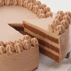 【アレルギー対応・冷凍便】卵・小麦粉・乳製品不使用のチョコデコ18cm 米粉ケーキ