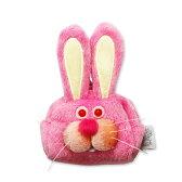 ウィスカーズミニケースミニケース ウサギ(Whiskers Animal Mini rabbit)GLADEE(グラディー)コインケース(お財布)やリップポーチなどに使える面白かわいいキーホルダー♪ お菓子やアクセサリー、イヤホンケースにおすすめ