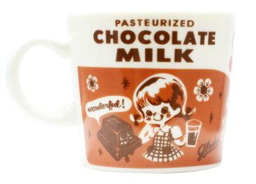 ミルクパックマグ チョコレート(Cereal Mug chocolate) GLADEE(グラディー)・コーヒーカップ、ラテマグ、ミルクマグに!プレゼントやギフトにかわいいマグ(コップ)、男の子や女の子、可愛いキッズ(子供)のクリスマス、お誕生日にも♪