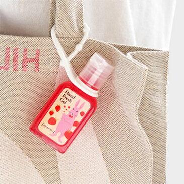 【メール便対応】香り付き ハンドフレッシュジェル携帯用のかわいい除菌ジェル♪消毒・除菌できるアルコールハンドジェル。持ち運びや持ち歩き、お出かけにぴったりストラップホルダー・ケース付 同シリーズの紙石鹸、ハンドソープもおしゃれプチギフトにおすすめ
