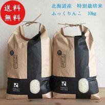 北海道米ふっくりんこ特別栽培米10kgA評価米JAL国内線機内食函館北斗市生産者限定販売店限定生産数限定ふっくら豊かな香り甘みもちもち食感送料無料なまらモグぱっく