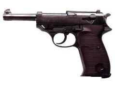 マルゼン・ワルサーP38(ac41)ブローバックガスガンブラック