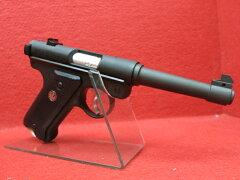マルシン6mmBBガスガン・スタームルガーMk1 HWブラックモデル サバゲー 02P07Fe…