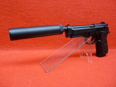 2S・U.S.9mmM9ミリタリー固定スライド・ガスガン