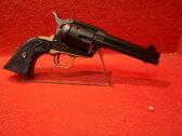 CAW発火型モデルガン SAA 2nd HW 43/4 or 51/2in トリガーガード&バックストラップ付き