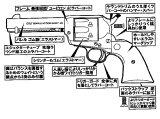 【予約品】【3月16日発売予定】HWS・コルトSAA.45シビリアンラバーモデル