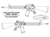 【予約品】【4月中旬発売予定】BWC:ブローバックモデルガンFNM.I.M16A4