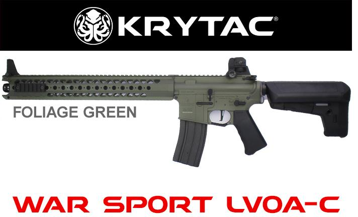 KRYTAC(クライタック)WARSPORT LVOA-C FG(WAR SPORT社正式ライセンス商品)カラー:フォレッジグリーン
