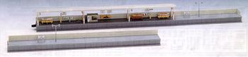 TOMIX model train one-sided platform (modern type)
