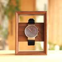■木製腕時計スタンド「DisplayFrameforWatch」