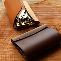 HacoaとHERZのコラボレーション商品、ポチッと心地よく開閉する木と革のキーケース/メンズ・レディース