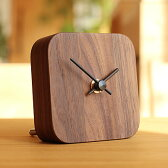 ■【BLOCK】木製時計「DeskClock」