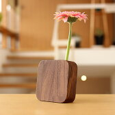 ■【BLOCK】木製一輪挿し「FlowerVase」