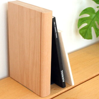 "■ Silhouette beautiful stylish solid wood desktop book stand and bookends Hacoa ""Bookend"" Scandinavian design"