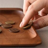 内側はコインが取り出し易い形状に加工してあります※写真のHacoaロゴはサンプルです