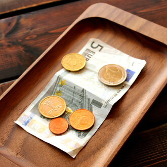 """■Solid feeling drifting wooden cash tray coin tray """"CashTray"""" North European style design"""