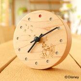■ディズニーキャラクターの小型置時計