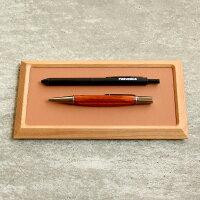 ペンや万年筆など文房具・ステーショナリートレイとしてもお使い頂けます