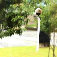 能作とHacoaのコラボレーション、真鍮と木の風鈴「KORO-RIN」