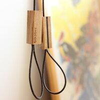 なげわのような木製ストラップ「Tazuna」Hacoaブランド
