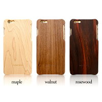 日本の職人が仕上げる木を削った木製iPhoneカバー