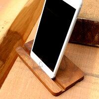 ウォールナットのスタンドにiPhone6Plus/6sPlusを使用