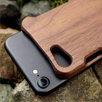 手作り感を活かした無垢のiPhone7用木製アイフォンケース