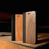 ■【+L 7】木目が美しい手帳型iPhone7用木製ケース「iPhone7 FLIPCASE」