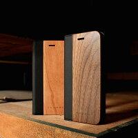 手帳型木製iPhoneケース「iPhone8/7FLIPCASE」