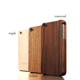 ■ iPhone4S counterpart to the popular natural solid wood iPhone wooden case Wood case for iPhone 4 case ( iPhone ) / Scandinavian design