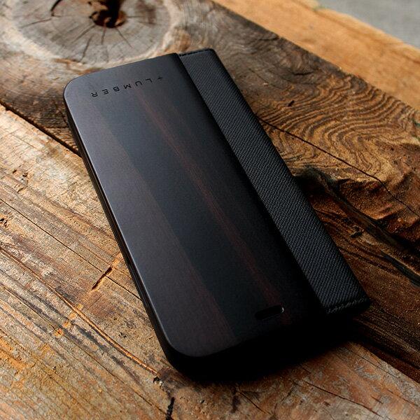 高級木材の黒檀iPhoneXR用ケース