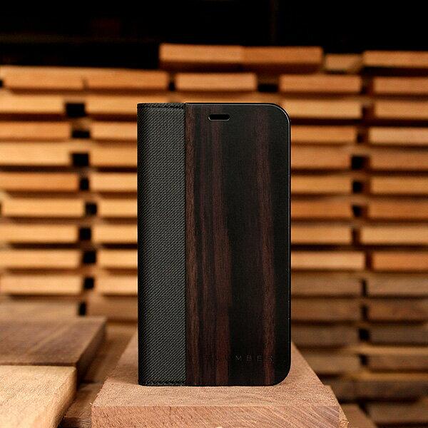 高級木材の黒檀iPhoneXS/X用ケース