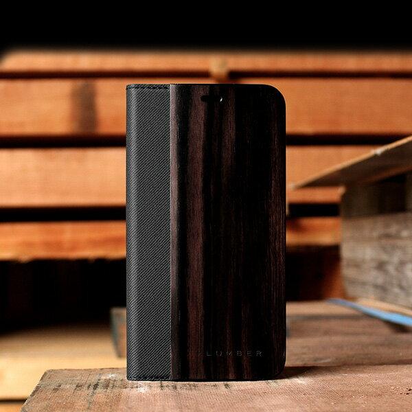高級木材の黒檀iPhoneXS Max用ケース