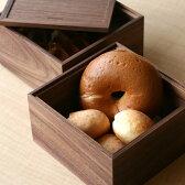 ■木の重箱 2段