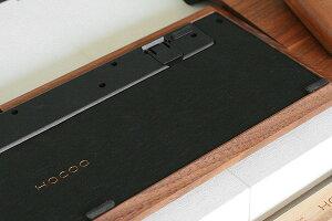 裏ぶたも木で作成しています、レーザー刻印で「Hacoa」の文字が刻印されています
